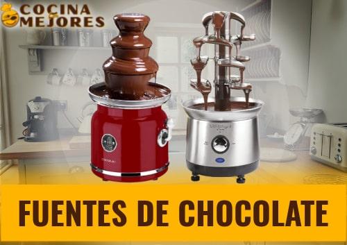 mejores fuentes de chocolate